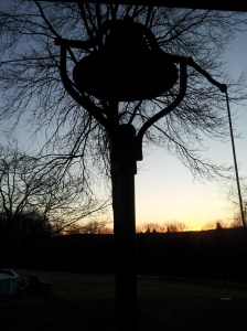 grandparents' bell - real sunset