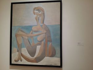 Pablo Picasso: Seated Bather, 1930