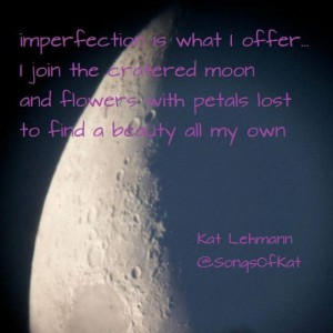 imperfection...like the moon